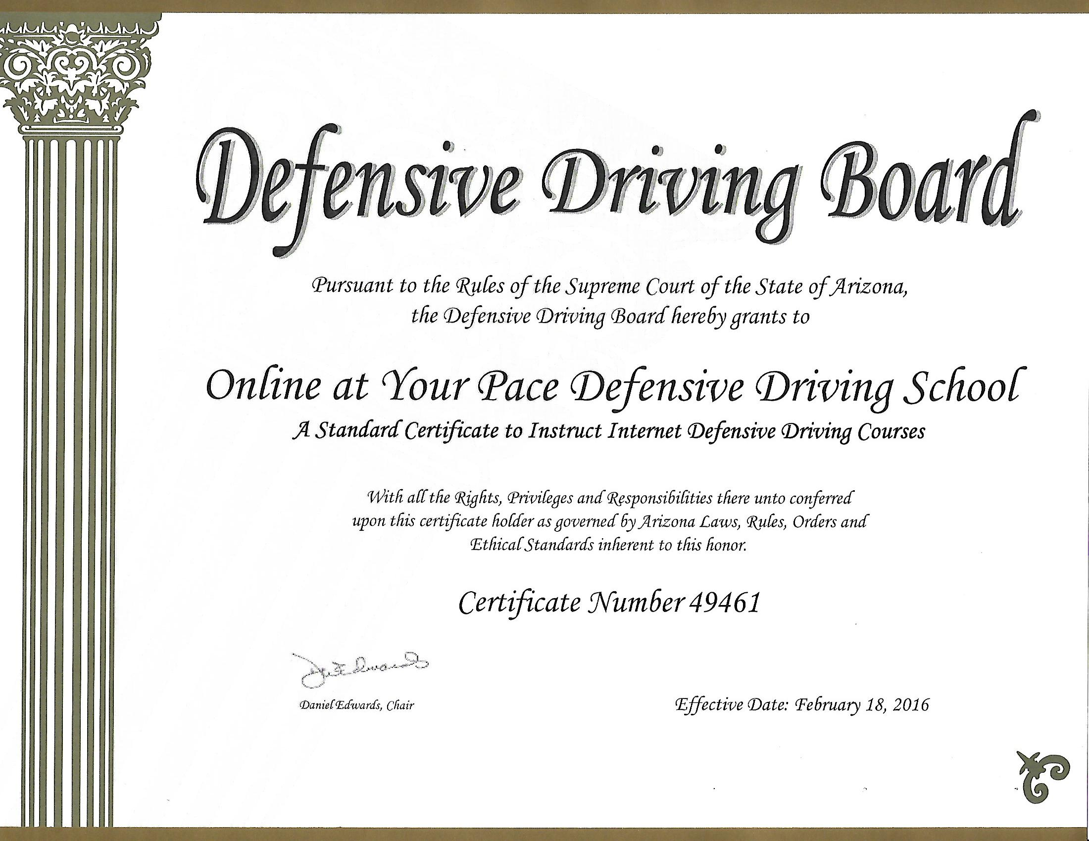 Onlineatyourpacedefensivedriving Take Defensive Driving Online